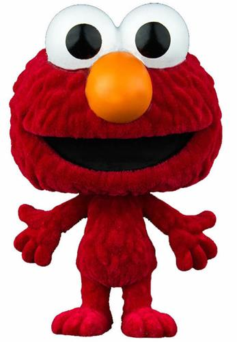 Funko Pop! Sesame Street Elmo (Flocked) Icon