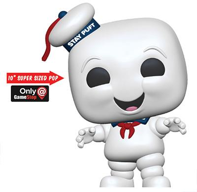 "Funko Pop! Movies Stay Puft Marshmallow Man 10"" Icon"