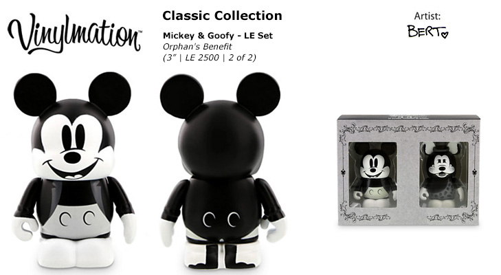 Vinylmation Open And Misc Orphan's Benefit Mickey