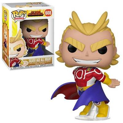 Funko Pop! Animation Silver Age All Might Stock