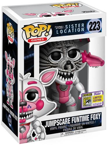 Funko Pop! Games Foxy (Funtime) - Jumpscare Stock