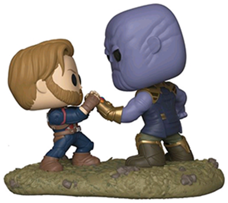 Funko Pop! Marvel Captain America vs. Thanos