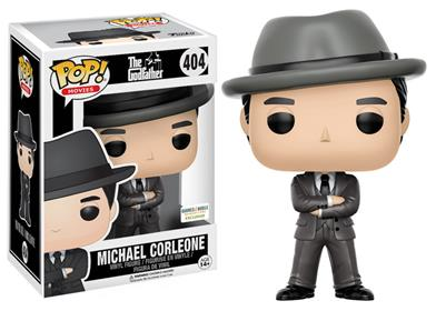 Funko Pop! Movies Michael Corleone (Gray Suit and Hat) Stock