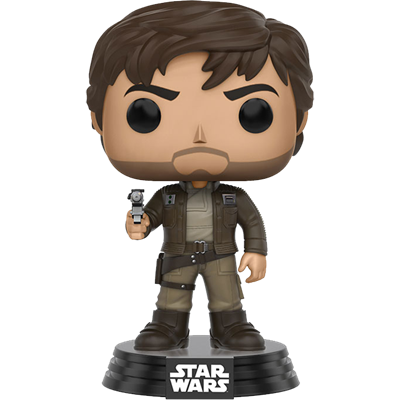 Funko Pop! Star Wars Captain Cassian Andor (Brown Jacket)