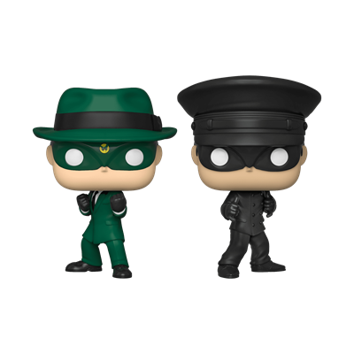Funko Pop! Television The Green Hornet and Kato (2-Pack) (NYCC)
