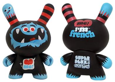 Kid Robot French Dunny Series 2008 Superdeux