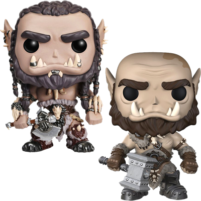 Funko Pop! Movies Durotan & Orgrim Icon Thumb