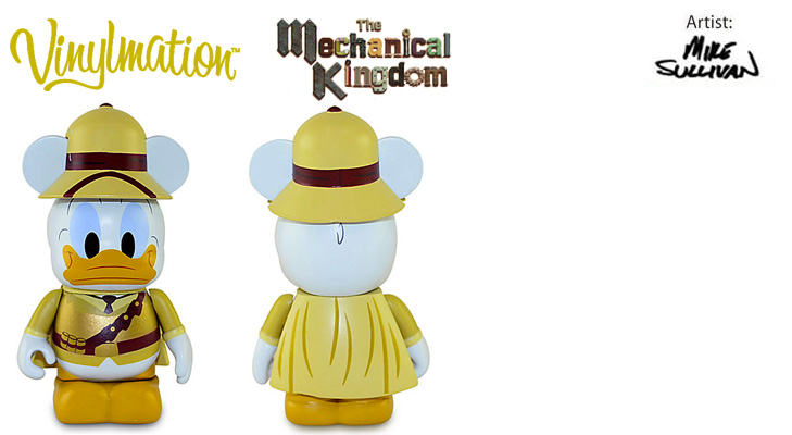 Vinylmation Open And Misc Mechanical Kingdom Donald