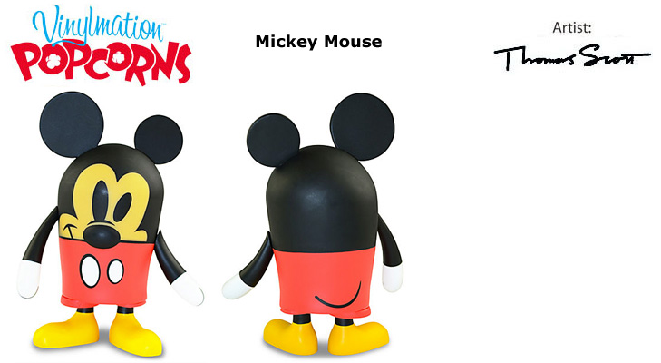 Vinylmation Open And Misc Popcorns Mickey Mouse