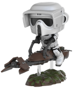 Funko Pop! Star Wars Scout Trooper (w/ Speeder Bike)