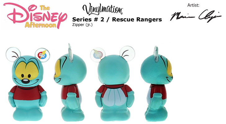 Vinylmation Open And Misc Disney Afternoon 2 Zipper