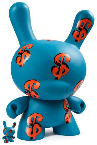 "Kid Robot 20"" Dunnys Dollar Signs Stock"