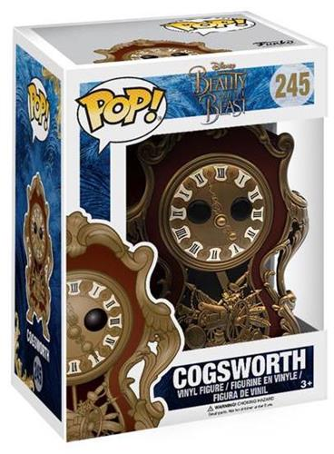 Funko Pop! Disney Cogsworth (Live Action) Stock