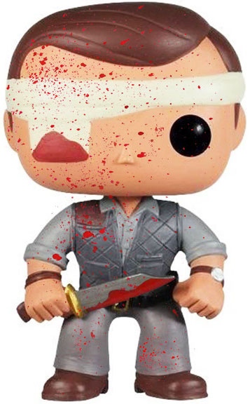 Funko Pop! Television The Governor (Bandaged) - Bloody