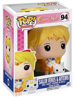 Funko Pop! Animation Sailor Venus (w/ Artemis) Stock
