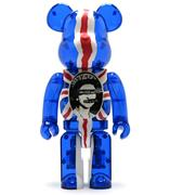 Be@rbrick Sex Pistols God save the Queen (Clear) 1000%