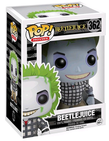 Funko Pop! Movies Beetlejuice (Plaid Shirt) Stock