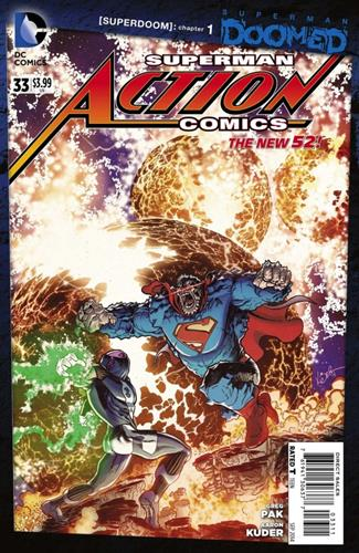 DC Comics Action Comics (2011 - 2016) Action Comics (2011) #33 Icon Thumb