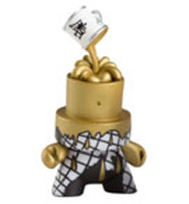 Kid Robot Fatcap Cover the Cap (Gold) Icon