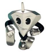 Kid Robot Art Figures Tiffany (Silver)