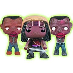 Michonne (Muddy) & Pets (Glow in the Dark)