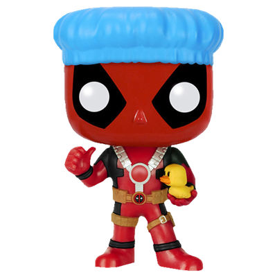 Funko Pop! Marvel Deadpool (Bath Time)