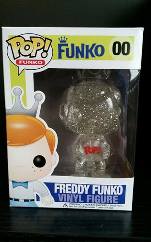 Funko Pop! Freddy Funko Freddy Funko (Crystal) (Clear) Stock