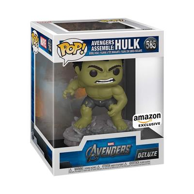 Funko Pop! Marvel Hulk (Avengers Assemble) Stock Thumb