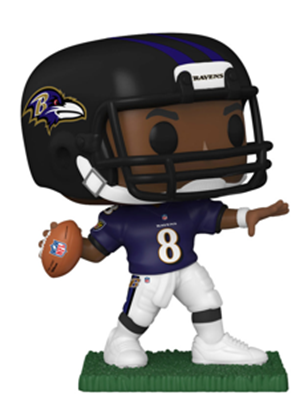 Funko Pop! Football Lamar Jackson