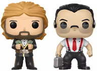 "Funko Pop! Wrestling ""Million Dollar Man"" Ted Diblaise & I.R.S."