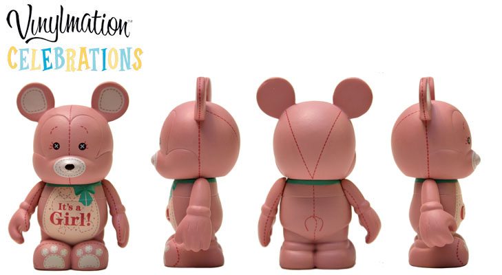 Vinylmation Open And Misc Celebrations It's A Girl
