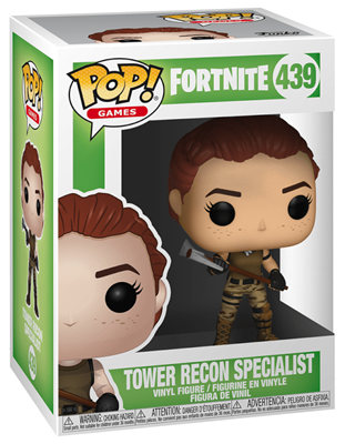 Funko Pop! Games Tower Recon Specialist Stock