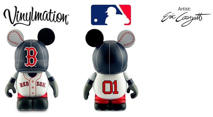 Vinylmation Open And Misc MLB Boston Red Sox