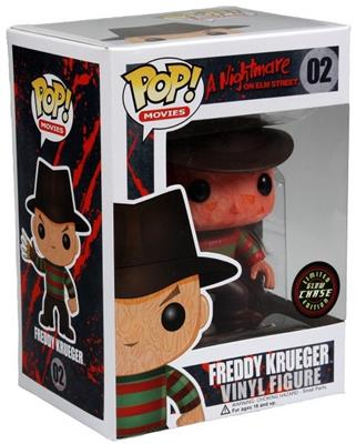 Funko Pop! Movies Freddy Krueger (Glow) - CHASE Stock Thumb