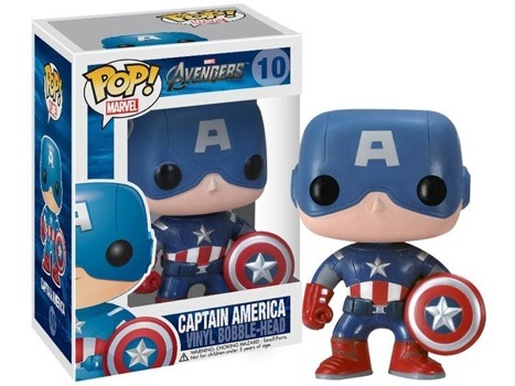 Funko Pop! Marvel Captain America (The Avengers) Stock