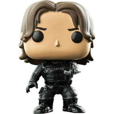 Funko Pop! Marvel Winter Soldier (Civil War) (No Arm)