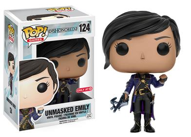 Funko Pop! Games Emily (Dishonored 2) (Unmasked) Stock