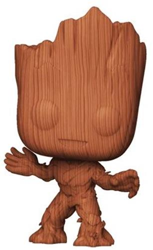 Funko Pop! Marvel Groot (Wood Deco)