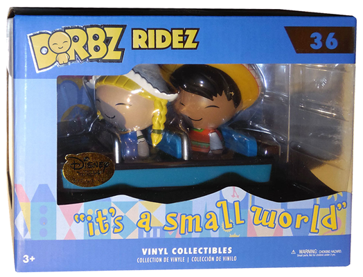 "Dorbz Dorbz Ridez Mexico & Holland (w/ ""Small World"" Boat) Stock"