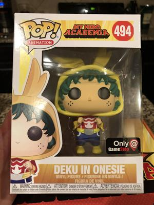 Funko Pop! Animation Deku (Onesie) Stock