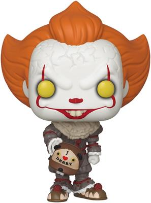 Funko Pop! Movies Pennywise with Beaver Hat Icon