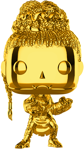 Funko Pop! Marvel Shuri (Gold Chrome)
