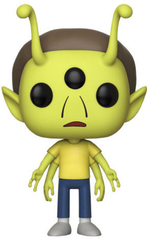 Funko Pop! Animation Morty (Alien)