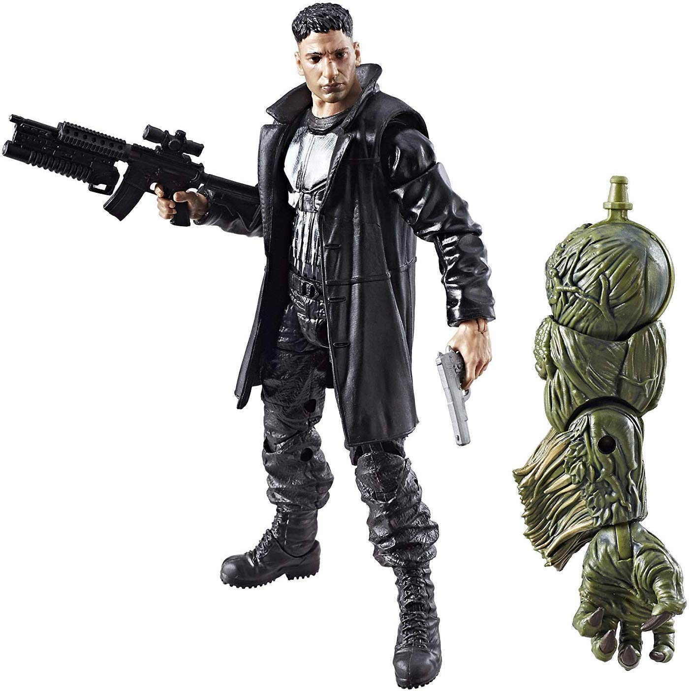 Marvel Legends Man-Thing Series Punisher Stock