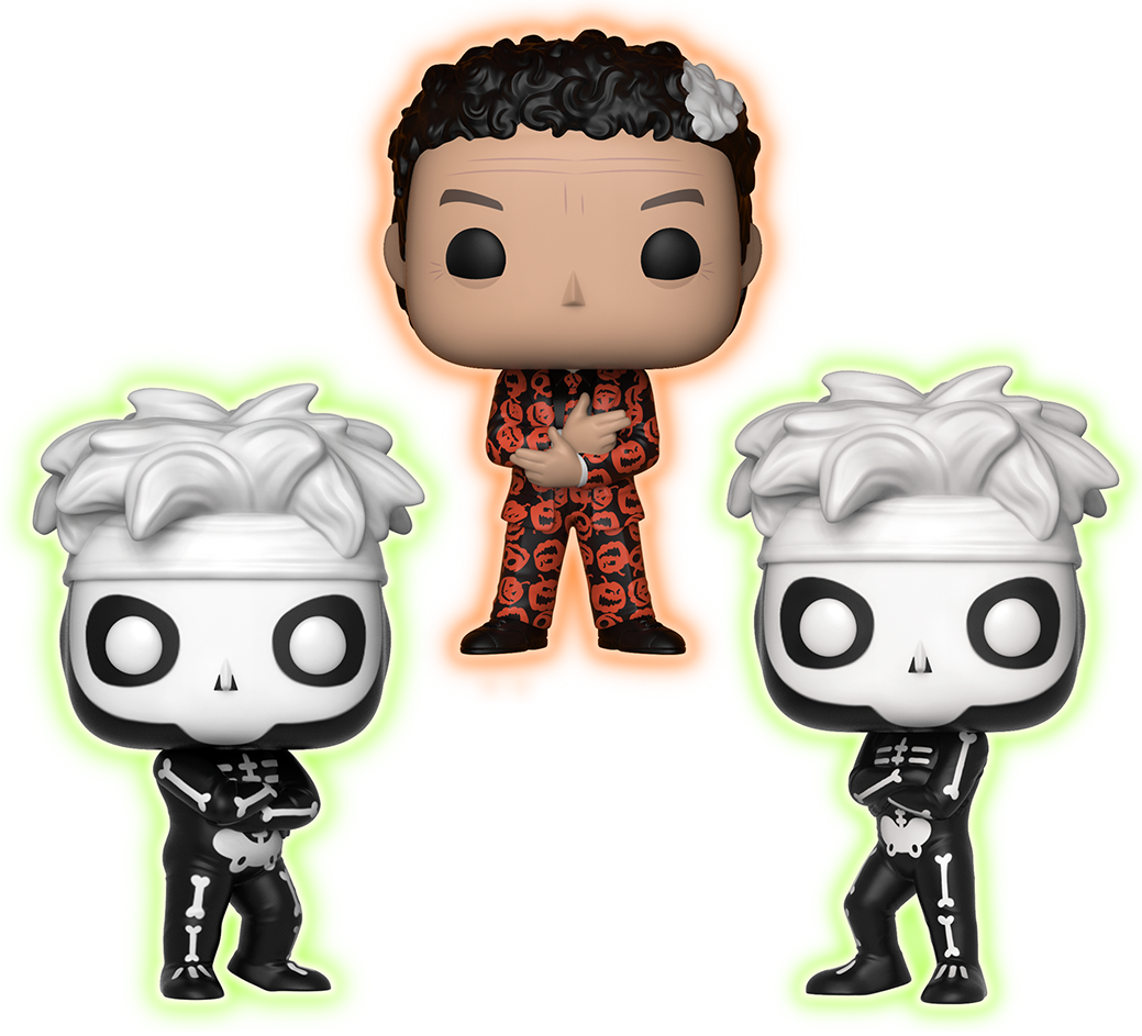 Funko Pop! Saturday Night Live David S. Pumpkins (w/ Skeletons) - Glow