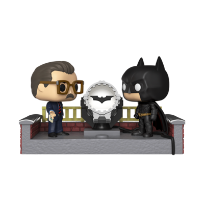 Funko Pop! Heroes Batman with light-up Bat-Signal