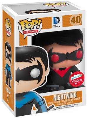 Funko Pop! Heroes Nightwing (Red) Stock