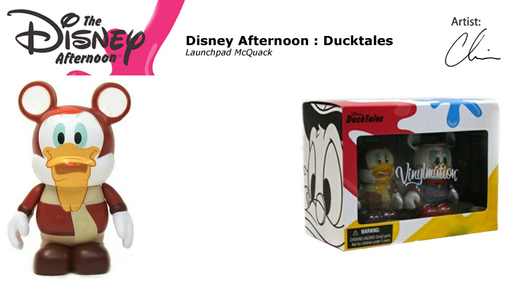 Vinylmation Open And Misc Disney Afternoon Launchpad McQuack