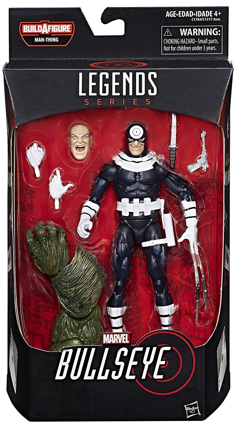 Marvel Legends Man-Thing Series Bullseye Icon