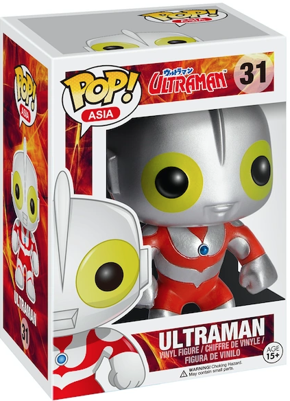 Funko Pop! Asia Ultraman Stock